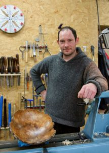 woodturning courses with Padraig Carragher